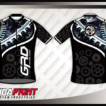 Jersey Sepeda Full Print Warna Hitam Yang Paling Menawan