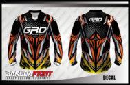 Kaos Sepeda Full Print Motif Transformers Bergaya Modern